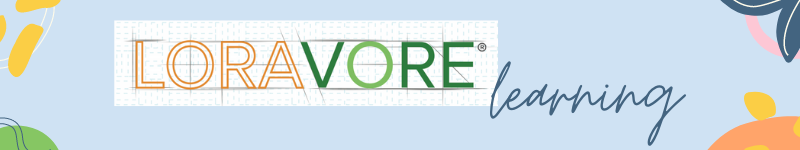 Loravore Learning header